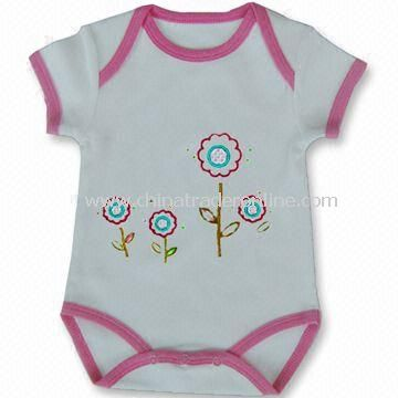 Baby Romper, OEM Orders are Accepted from China