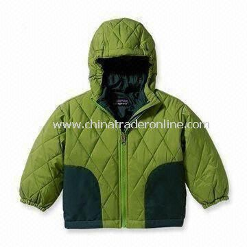 Babys Jacket, Made of 65% Polyester and 35% Cotton
