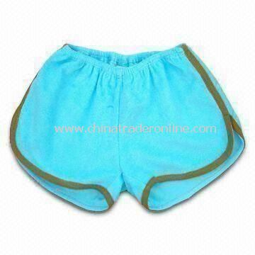 Baby Shorts, Made of 100% Cotton Fabric, Available in Various Colors