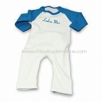 Fashionable Baby Romper, Made of 100% Cotton from China