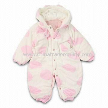 Soft Baby Romper, Customized Designs, Fabrics and Logos are Welcome, Made of 100% Cotton from China