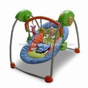 Babies Swing with Five Variable Swing Speeds, Easily Folds for Travel and Storage