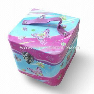Cardboard Storage Box with Customized Designs, Used as Promotional Gift for Baby Girl