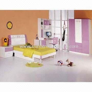 Kid Bedroom, Made of MDF, Suitable for Babies And Childrens