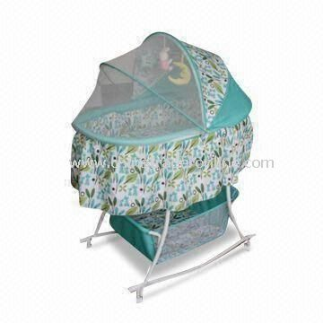 Swing Bed with Storage Bags and Large Yarn Account