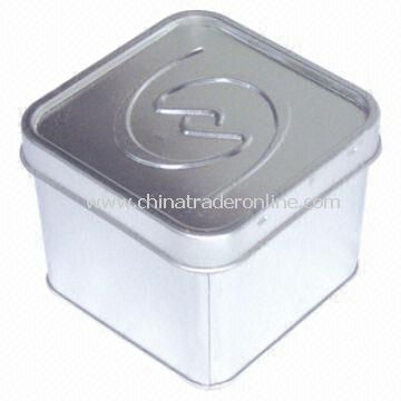 Tin Storage Box with 4C Printing, Suitable for Baby Clothes Storage and Offset Print Available