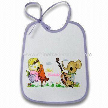 Waterproof Baby Bib in Various Designs