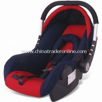 Baby Car Seat with Removable and Washable Fabric Cover, Easy to Install