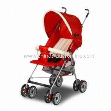 Baby Stroller, Made of 600D Polyester and Super Quality Aluminum Pipe, with Umbrella