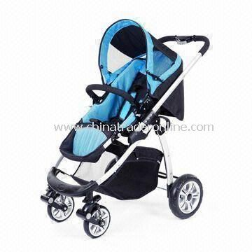 Baby Stroller with 1 Hand Folding System and 3-in-1 System