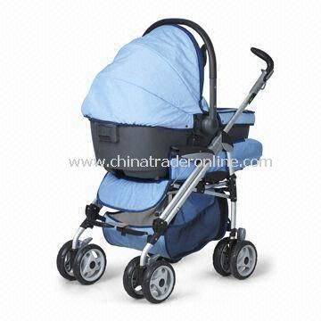 Baby Stroller with Folding Wagon and Convertible to Install