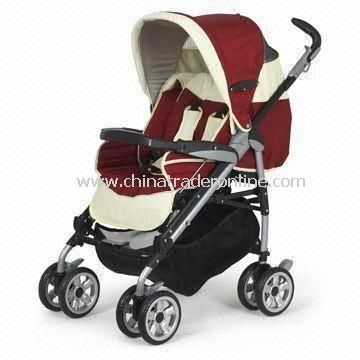 Baby Stroller with Foot Brake, Suitable for Two Children