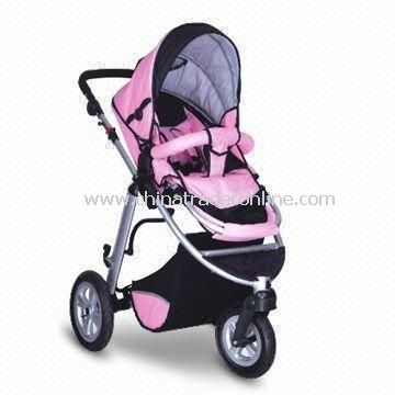Baby Strollers with Removable Front, Rear Suspension and Powerful