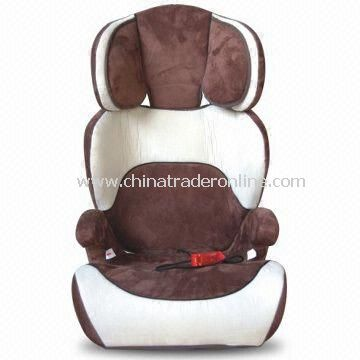 Childrens Safe and Healthy Car Seat with HDPE Plastic Fittings, Suitable for Age of 3 to 12 Years