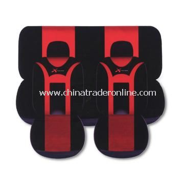 Eight Piece Car Seat Cover Set in Various Colors