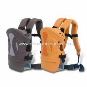 Taslon Babies Carrier with PP Board 60% Polyether Fill, Customized Requirements are Welcome