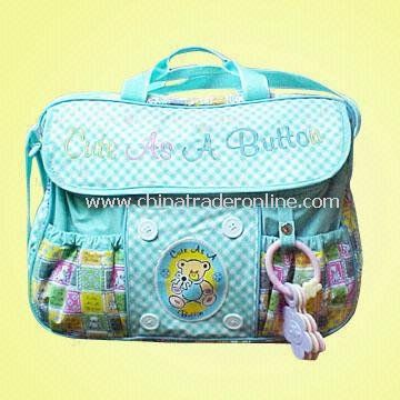 Baby Care Bag, Made of PVC, Measures 39 x 14 x 30cm from China