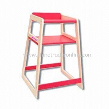 Baby Feeding Chair, Made of Solid Wood, Measures 50 x 48 x 71cm from China