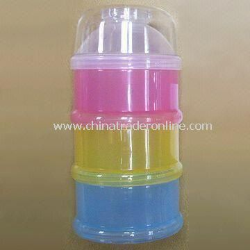 Baby Milk Powder Container, Suitable for Indoor and Outdoor Use, Easy to Use and Hold