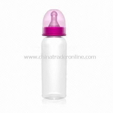 BPA-free Baby Feeding Bottle with Capacity of 250ml, High and Low Temperature Resistant from China
