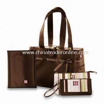 Diaper Bag, Different Materials are Available, Customized Logos and Designs are Accepted