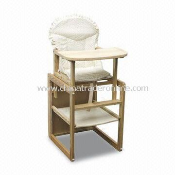 Feeding Chair, Made of Solid Wood or MDF, Measures 46.5 x 46 x 91cm