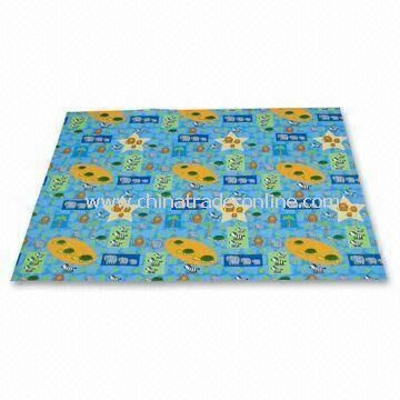 High Chair Mat and Playmat, Ideal for Playtime, Bathtime, Picnics and Trips to the Beach