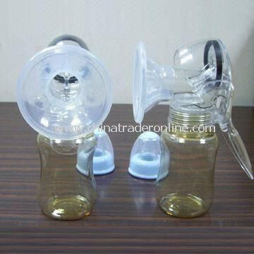 Manual Breast Pump with Silicon Petal-shaped Funnel Cover