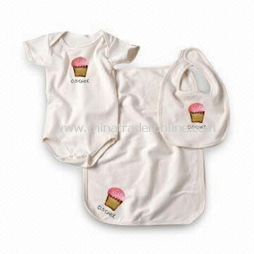 Babies Gift Set/Babies Clothes Set, Customized Designs, Sizes, Colors Welcomed