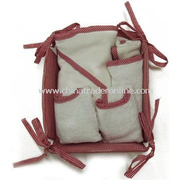 Baby Gift Set, Made of 100% Cotton Terry Velour