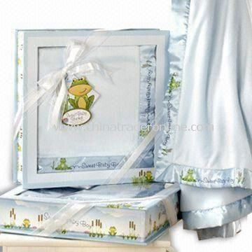 Baby Gift Set, Made of Cotton, Available in Various Colors and Sizes