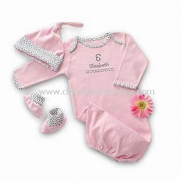 Customized Baby Gifts on Wholesale Baby Gift Set Baby Clothes Set  Customized Designs  Sizes