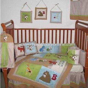 Bedding Set, Made of 100% Cotton Cover, Customized Sizes, Colors and Logos Accepted