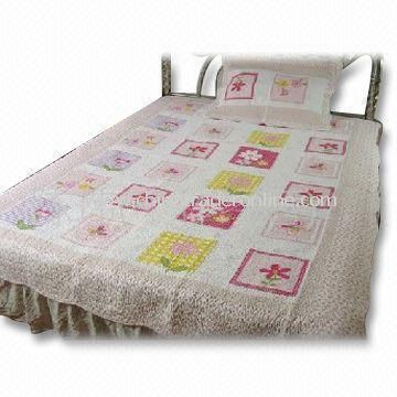 Bedding Set with Printing, Made of 100% Cotton, Customized Sizes are Accepted