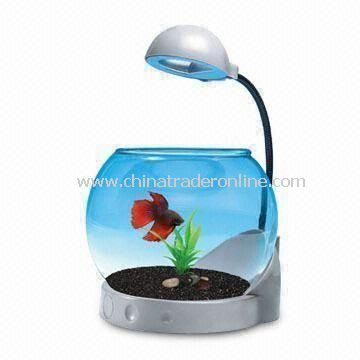 Fish Tank, Suitable for Mini/Desktop/Bed Room Betta Bowl/Office Decorations