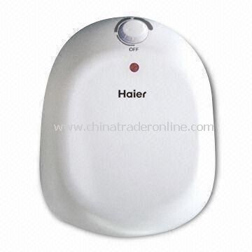 10L Small Volumn Electric Water Heater, Used in Kitchen with Over-pressure Protection