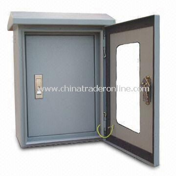 Outdoor Wall Mounting Metal Enclosure with Window, Available in Various Colors