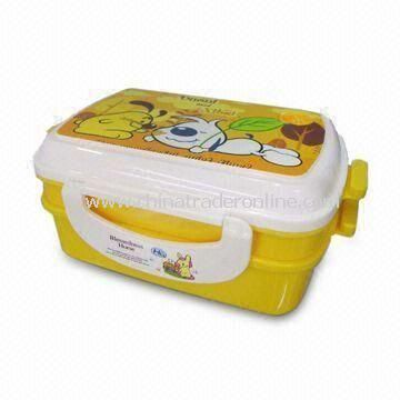 Plastic Canteen, Measuring 21 x 13.5 x 6.5cm, Food Safe from China