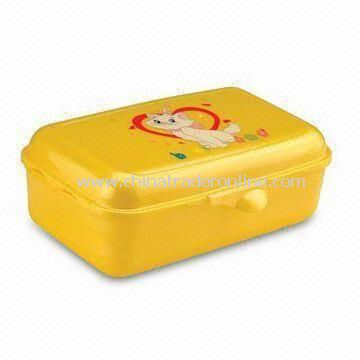 Plastic Lunch Box, Microwave Oven and Food Safe