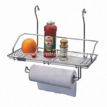 Spices and Toilet Paper Rack, Suitable for Daily Necessities, Measures 400 x 225 x 302mm