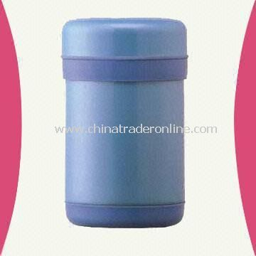 Vacuum Food Storage Container with 1,200mL Capacity and Stainless Steel Body