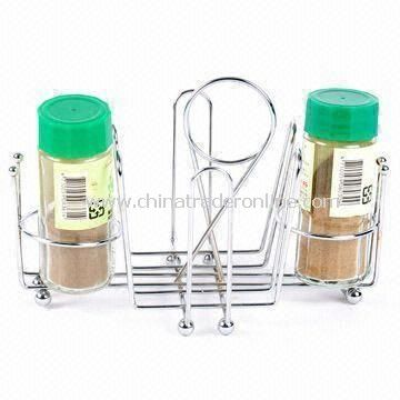 Condiments Holder, Measures 40 x 30 x 34cm