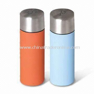 Salt and Pepper Mills, Available in Various Capacities, Made of 18/8 Stainless Steel