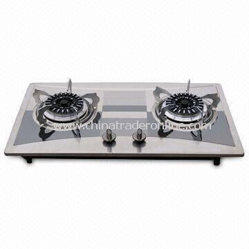 Good Quality Gas Stove, Non-oil Sticking, Easy Cleaning, with Flame-out Protection Device