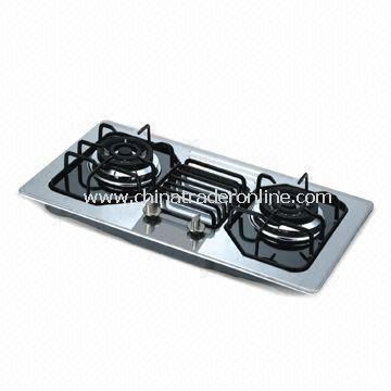 Good Quality Gas Stove, Non-oil Sticking, Easy Cleaning with Flame-out Protection Device from China