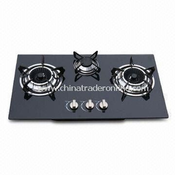 Good Quality Gas Stove, Non-oil Sticking, Easy Cleaning with Flame-out Protection Device