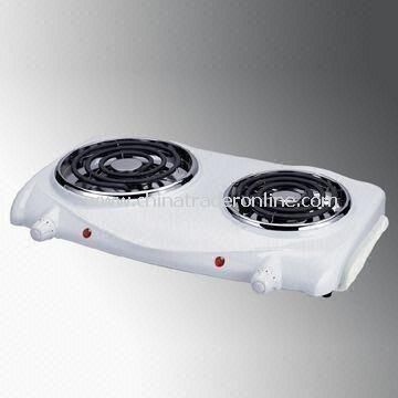 Hot Plate with Heat-resistant Handle and Lift Up Heating Element for Easy Cleaning