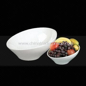 11.5-inch Porcelain Slant Bowls, Can Be Used for Ornaments and Food Services