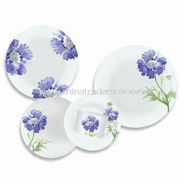 wholesale 30 Pieces Porcelain Dinner Set with Round Shape