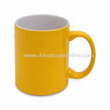 Coffee Mug, Made of Porcelain, Available in 8, 10, and 12oz Capacity